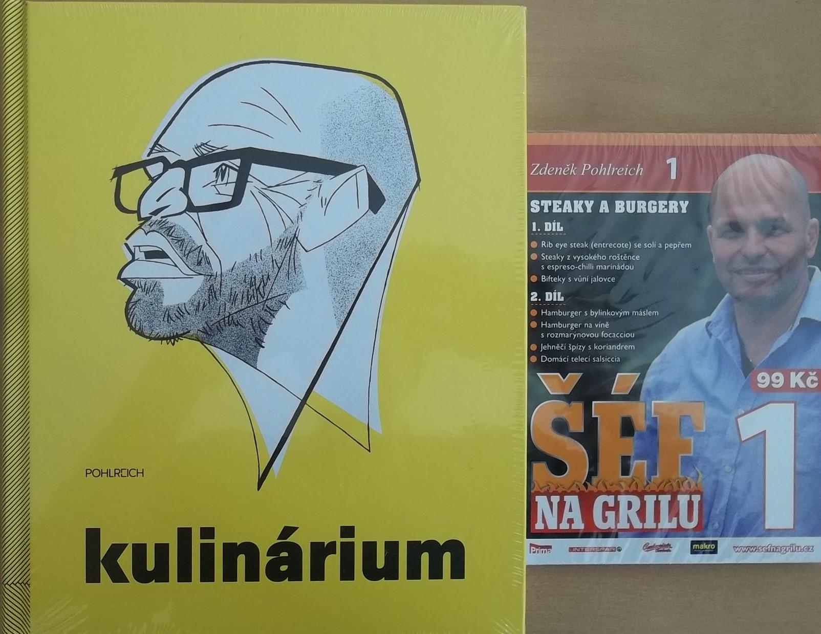 Kulinárium - Pohlreich + DVD DÁREK