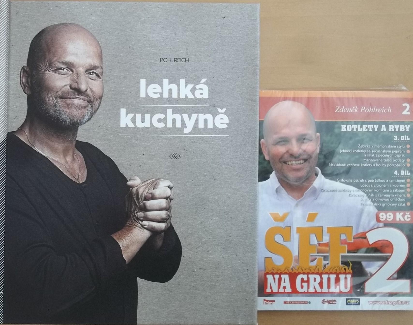 Lehká kuchyně - Pohlreich + DVD DÁREK