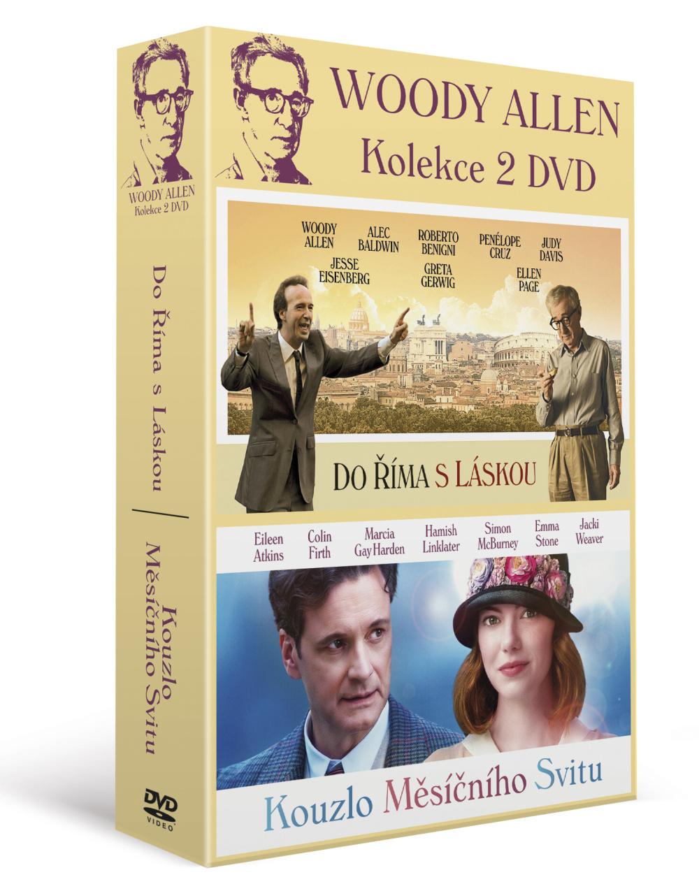 Woody Allen: Kolekce (2DVD)