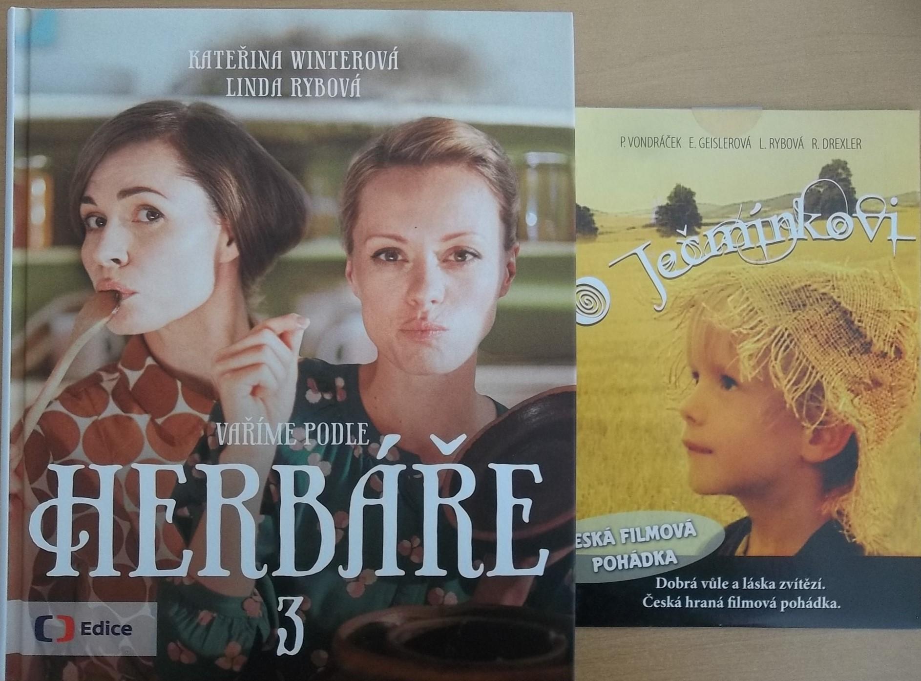 Vaříme podle herbáře 3 - Kateřina Winterová, Linda Rybová + DVD DÁREK