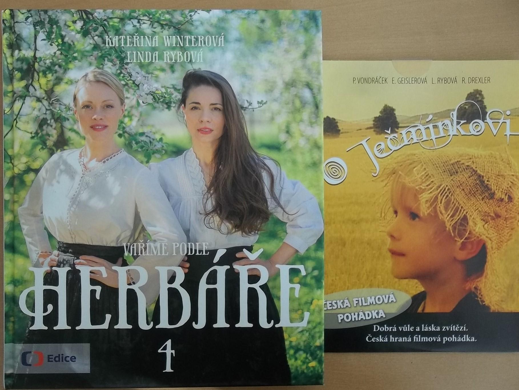 Vaříme podle herbáře 4 - Kateřina Winterová, Linda Rybová + DVD DÁREK