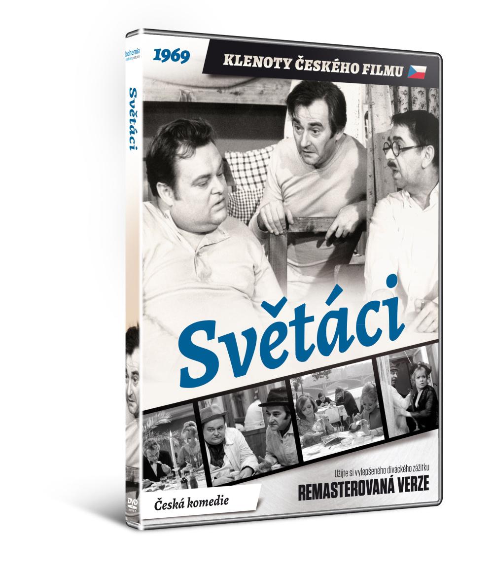 Světáci - edice KLENOTY ČESKÉHO FILMU (remasterovaná verze) - DVD