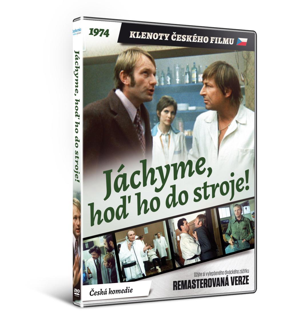 Jáchyme, hoď ho do stroje! - edice KLENOTY ČESKÉHO FILMU (remasterovan ) - DVD