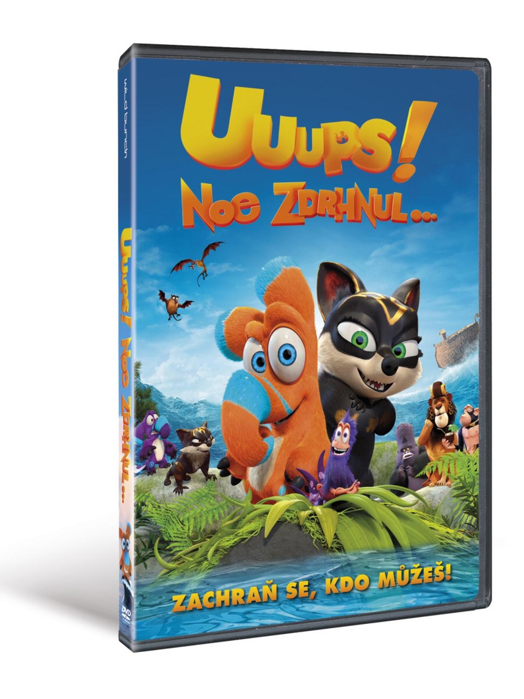 Uuups! Noe zdrhnul… ( plast ) - DVD