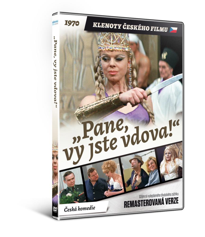 Pane, vy jste vdova! - edice KLENOTY ČESKÉHO FILMU - DVD