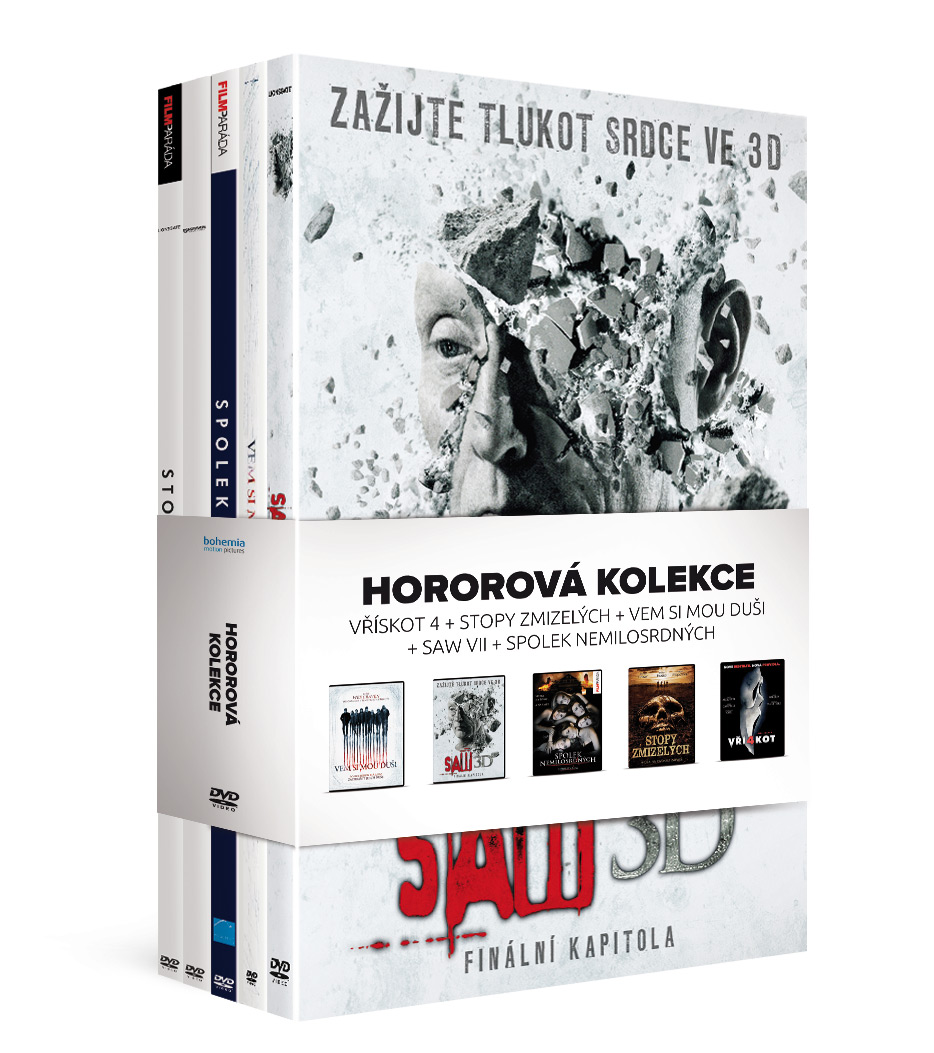 Hororová kolekce: 5 DVD