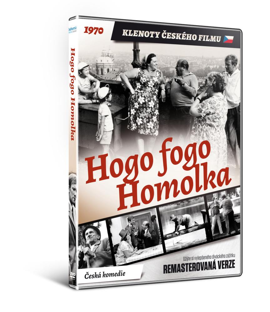 Hogo fogo Homolka - edice KLENOTY ČESKÉHO FILMU - DVD