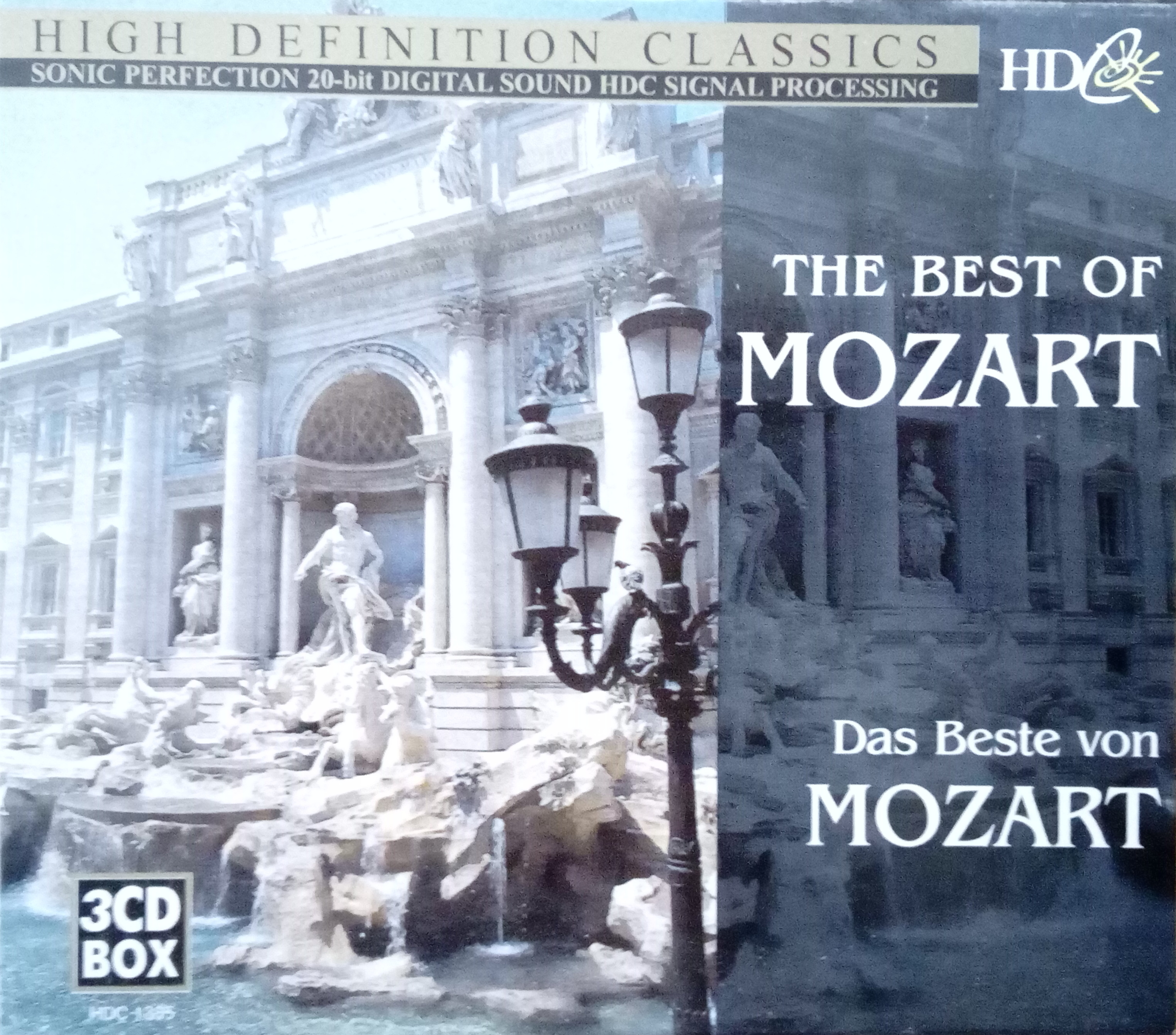 High definition classical - The best of Mozart 3CD