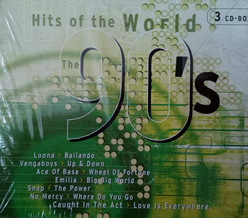 Hits of the world 90´s 3CD