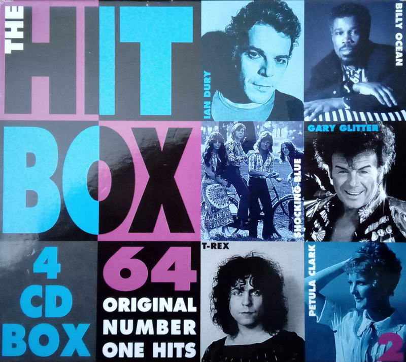 The hit box - 64 original number one hits 4CD