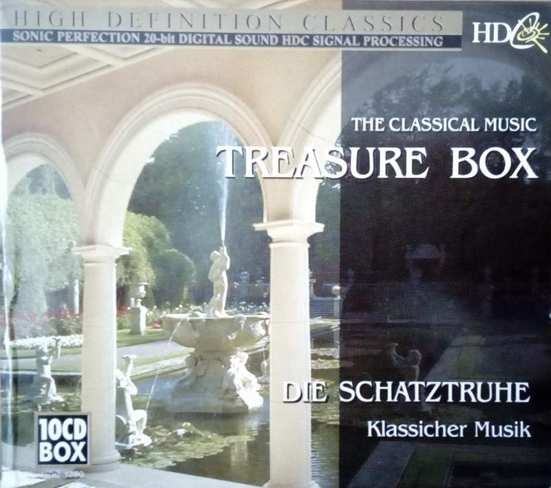 High definition classic - Treasure Box 10CD