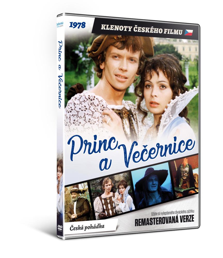Princ a Večernice - edice KLENOTY ČESKÉHO FILMU - DVD