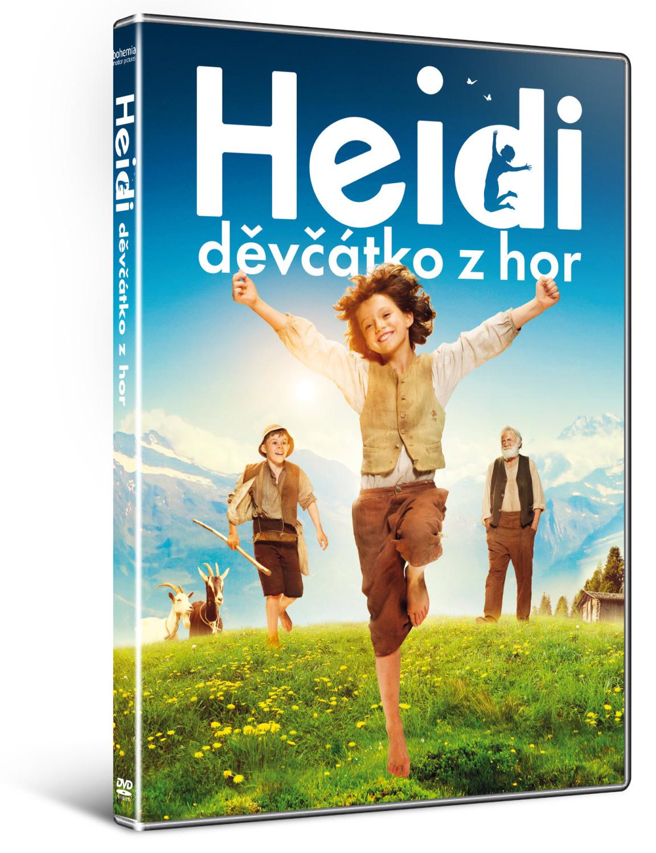 Heidi, děvčátko z hor ( plast ) - DVD