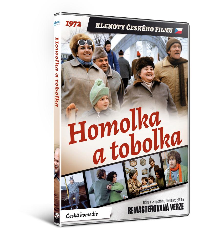 Homolka a tobolka - edice KLENOTY ČESKÉHO FILMU - DVD