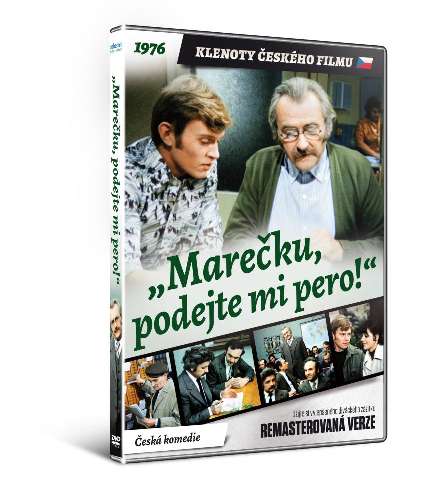 Marečku, podejte mi pero - edice KLENOTY ČESKÉHO FILMU - DVD