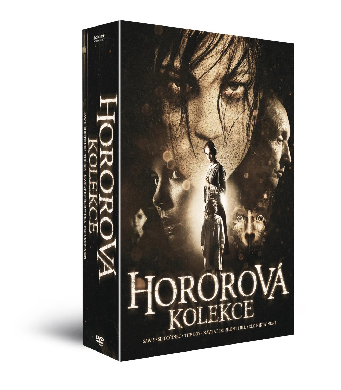 Hororová kolekce II: 5 DVD