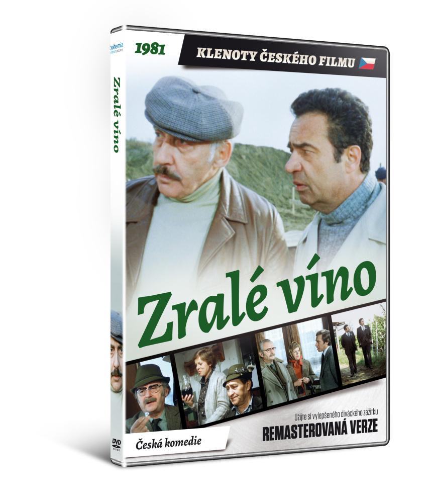 Zralé víno - edice KLENOTY ČESKÉHO FILMU (remasterovaná verze) - DVD