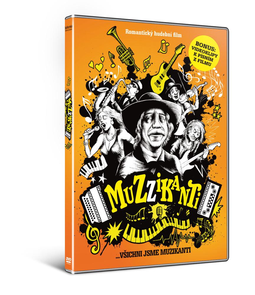 Muzzikanti ( plast ) - DVD