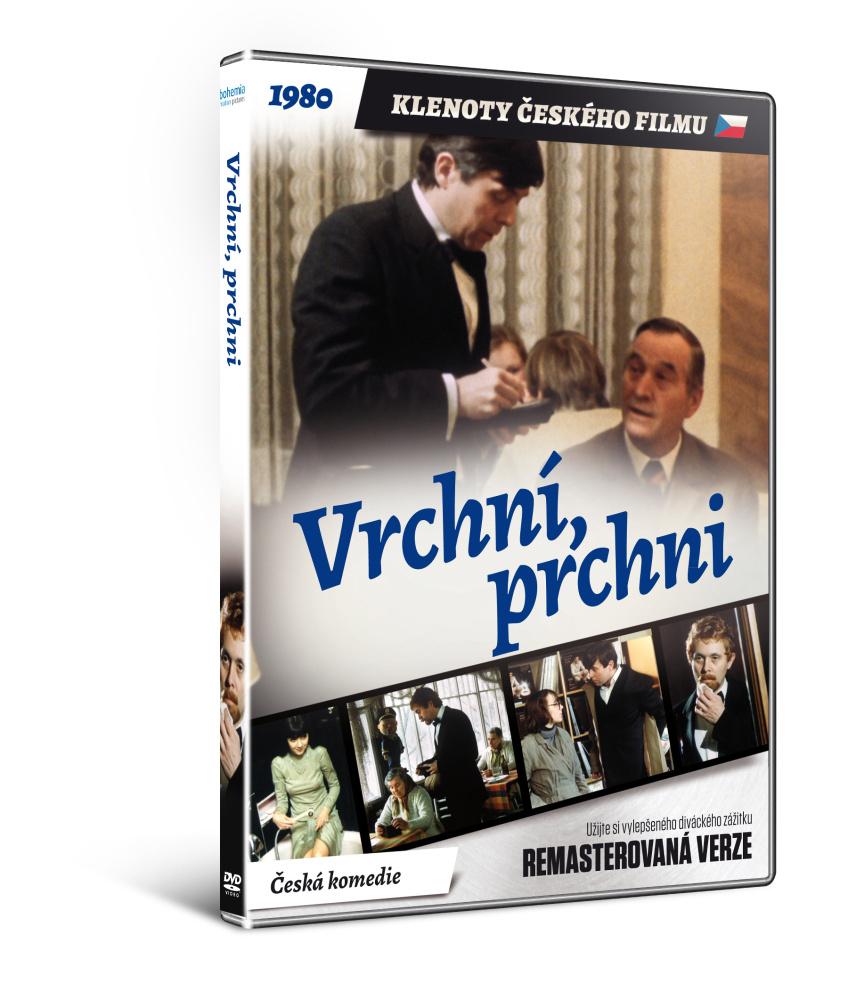 Vrchní prchni - edice KLENOTY ČESKÉHO FILMU  - DVD