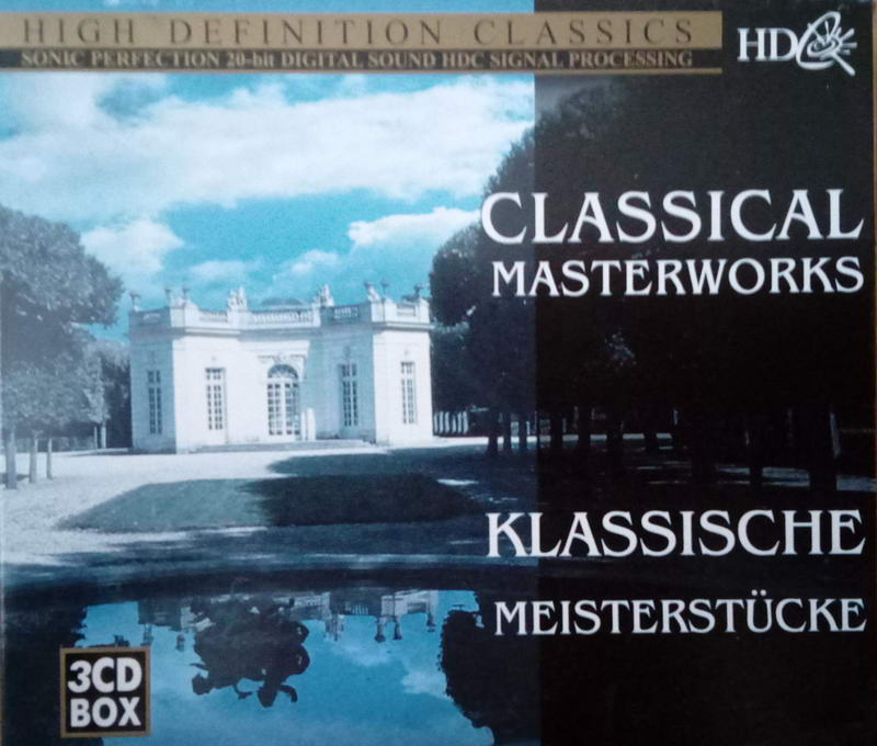 High definition classic - Classical Masterworks 3CD