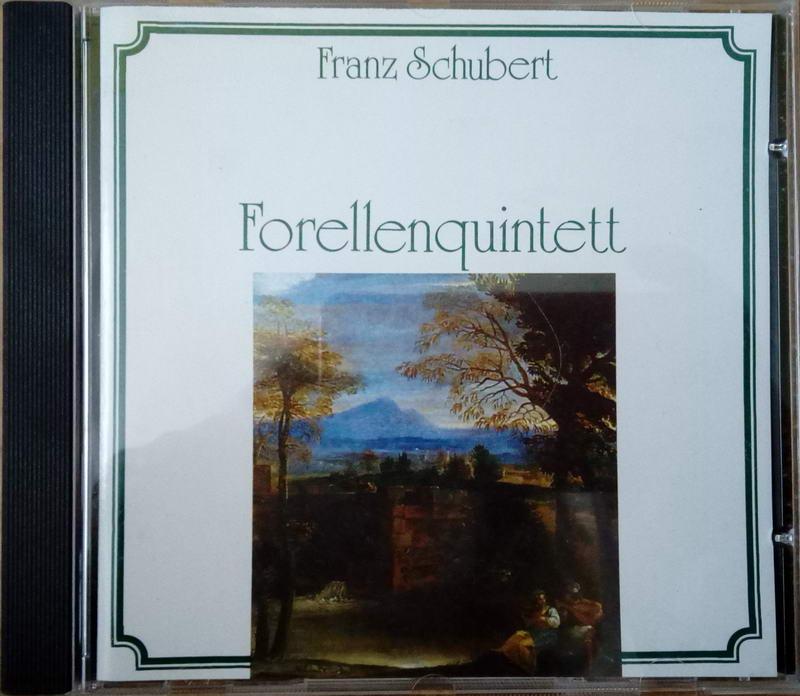Franz Schubert - Forellennquintett CD