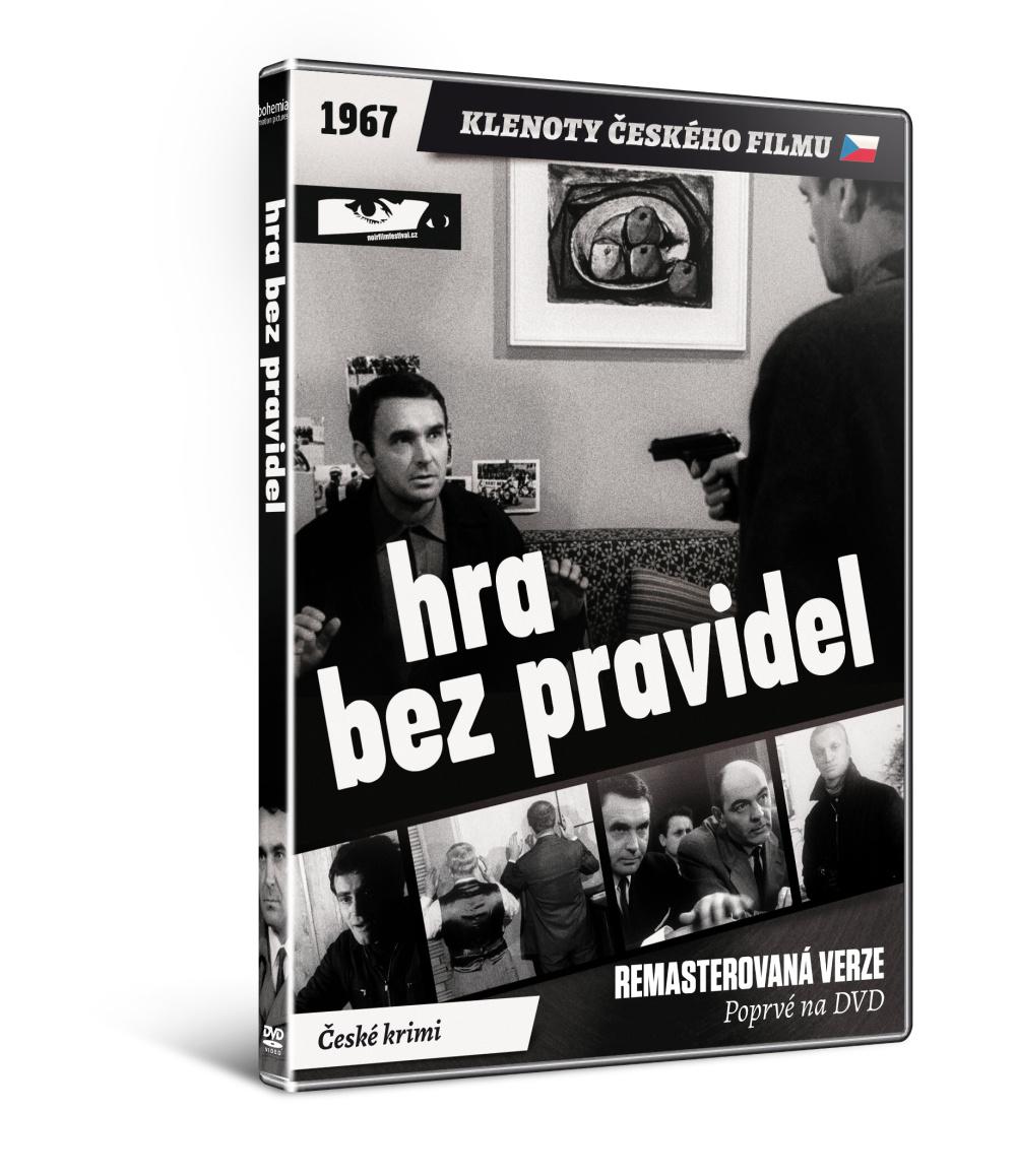Hra bez pravidel - edice KLENOTY ČESKÉHO FILMU - DVD
