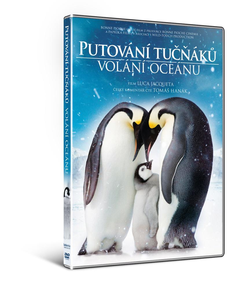 Putování tučňáků: Volání oceánu ( plast ) - DVD