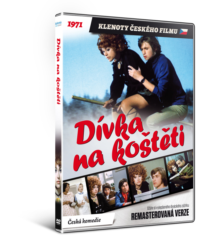 Dívka na koštěti - edice KLENOTY ČESKÉHO FILMU  - DVD