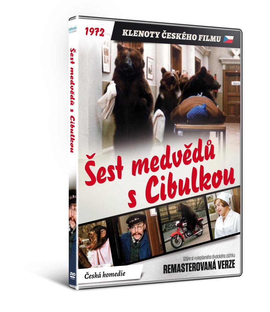 Šest medvědů s Cibulkou - edice KLENOTY ČESKÉHO FILMU - DVD