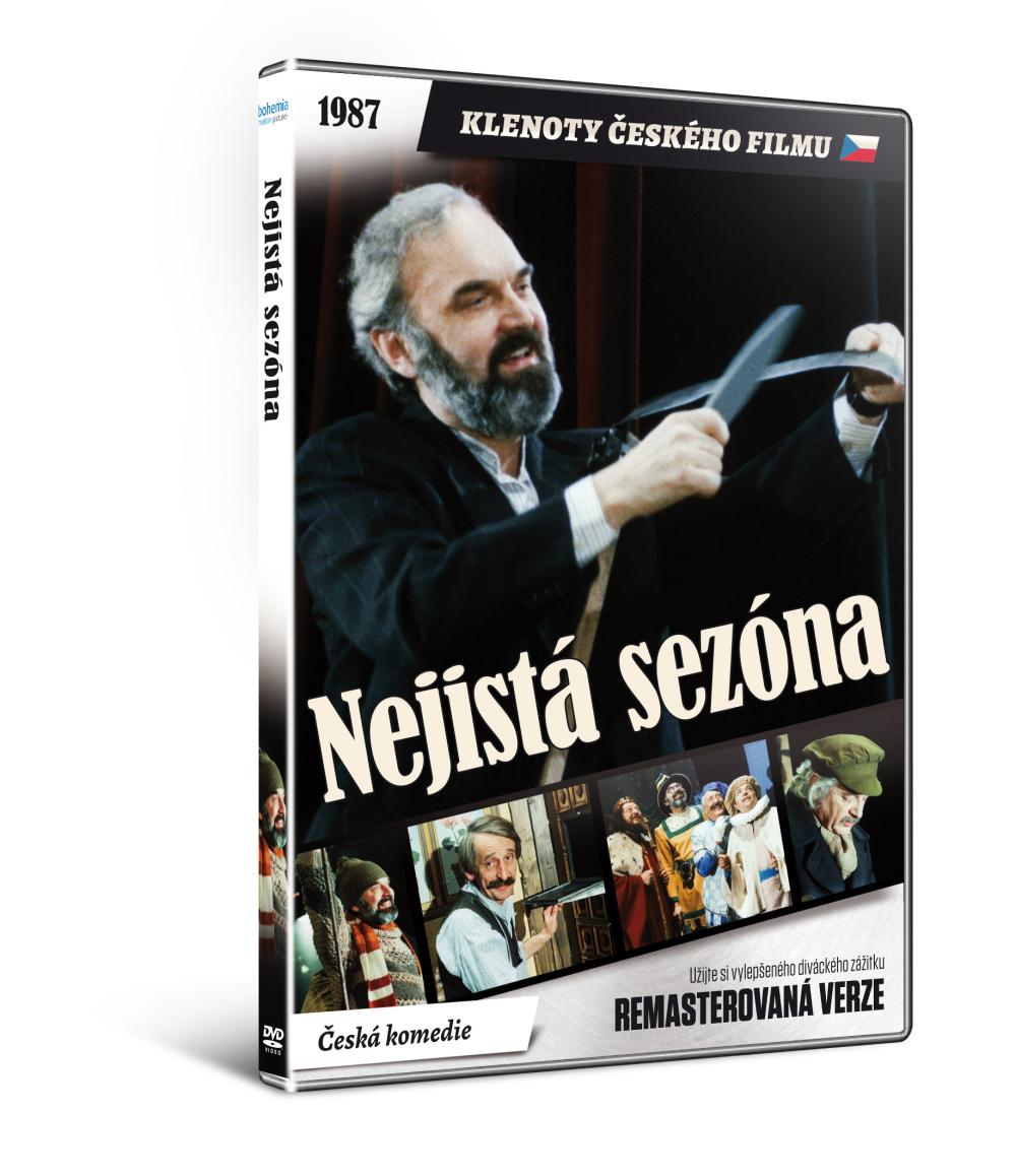 Nejistá sezóna - edice KLENOTY ČESKÉHO FILMU - DVD
