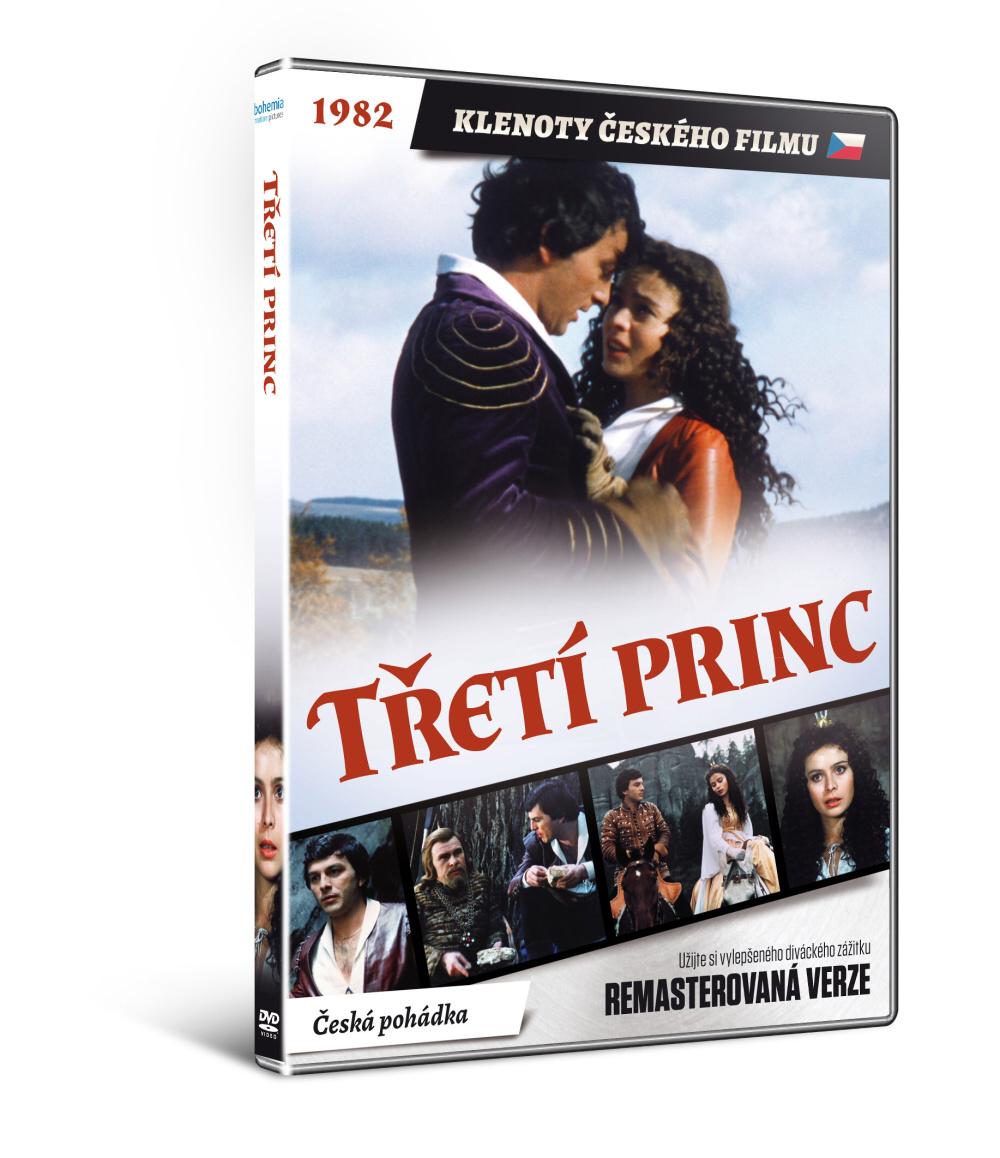 Třetí princ - edice KLENOTY ČESKÉHO FILMU - DVD