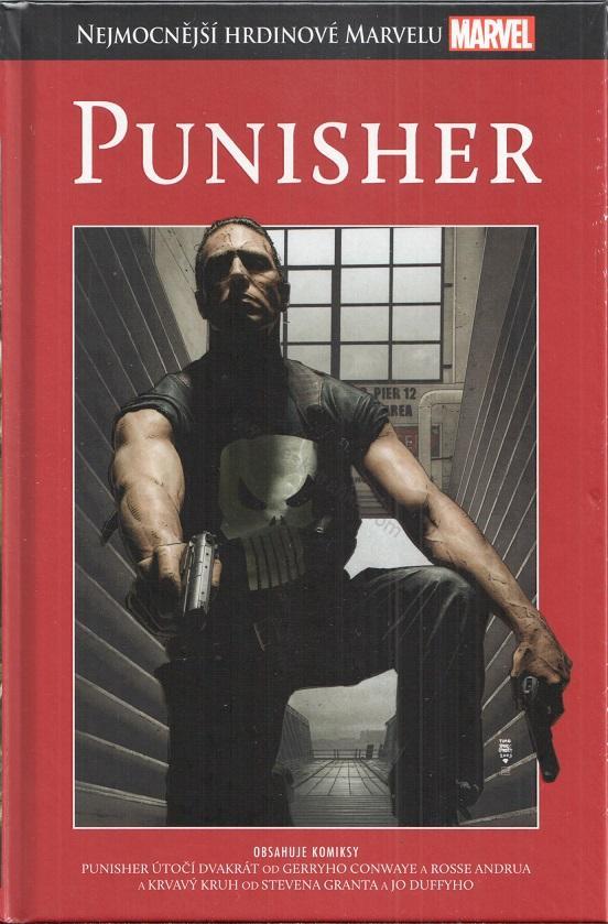 Nejmocnější hrdinové Marvelu - Punisher (hřbet20)