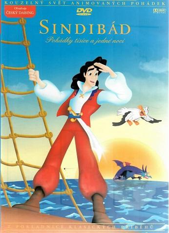 Sindibád ( pohádky tisíc a jedné noci ) - DVD