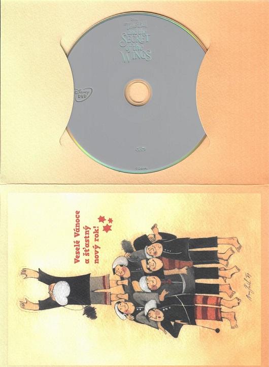Zvonilka: Tajemství křídel (Dárkový papír obal ) - DVD