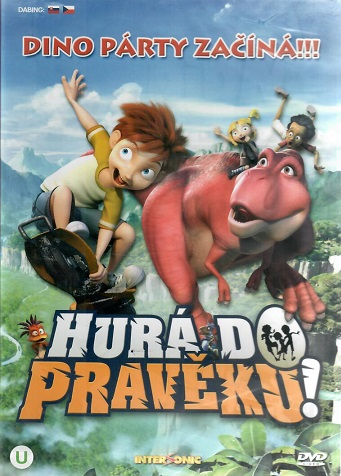 Hurá do pravěku ( plast )- DVD