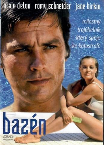 Bazén ( Alain Delon) - plast DVD