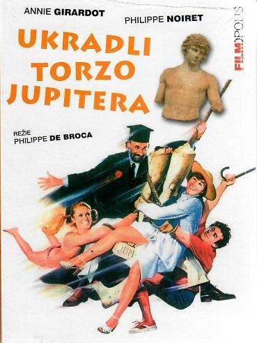 Ukradli torzo Jupitera ( digipack ) - DVD