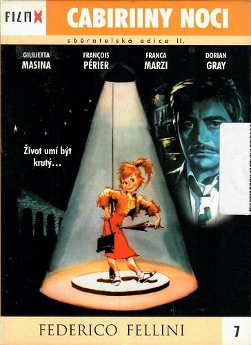 Cabiriiny noci (bazarové zboží) - digipack DVD