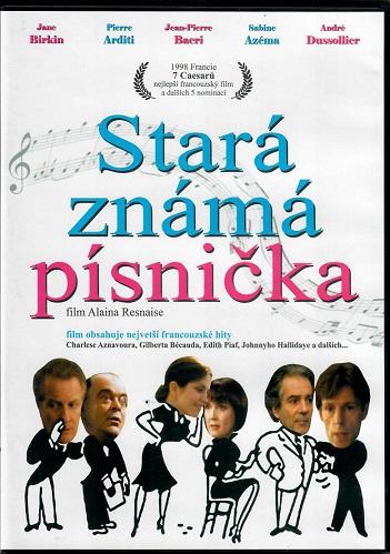 Stará známá písnička ( originální znění ) - plast DVD