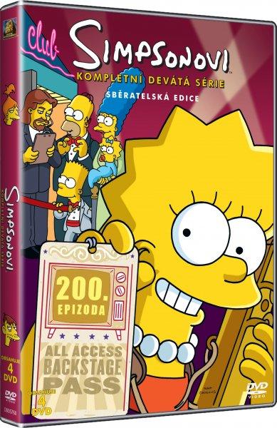 Simpsonovi 9. série DVDSE