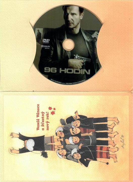 96 hodin ( dárkový papírový obal )  - DVD