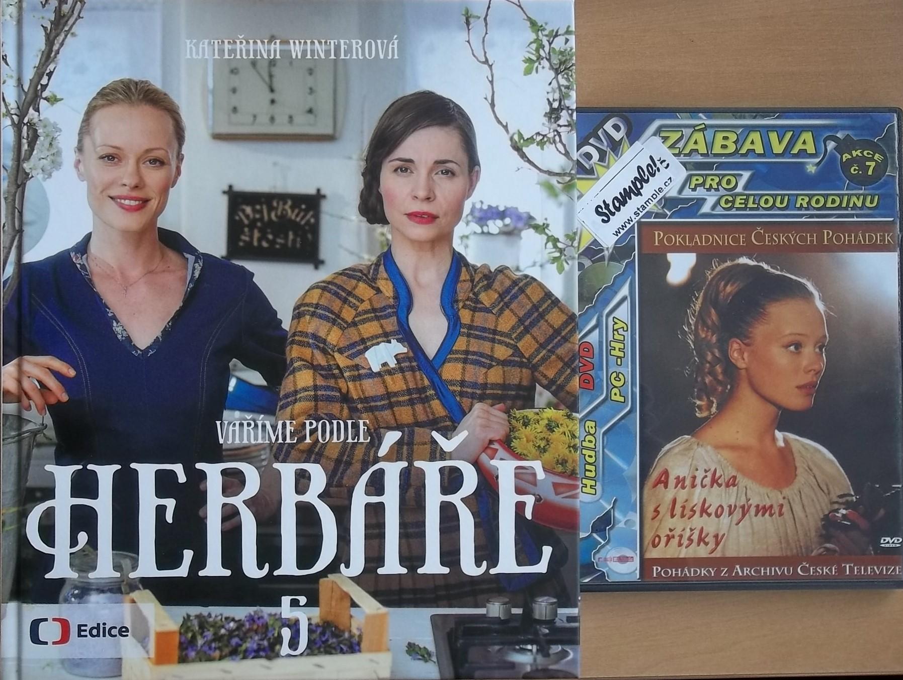 Vaříme podle Herbáře 5 - Winterová Kateřina + DVD DÁREK