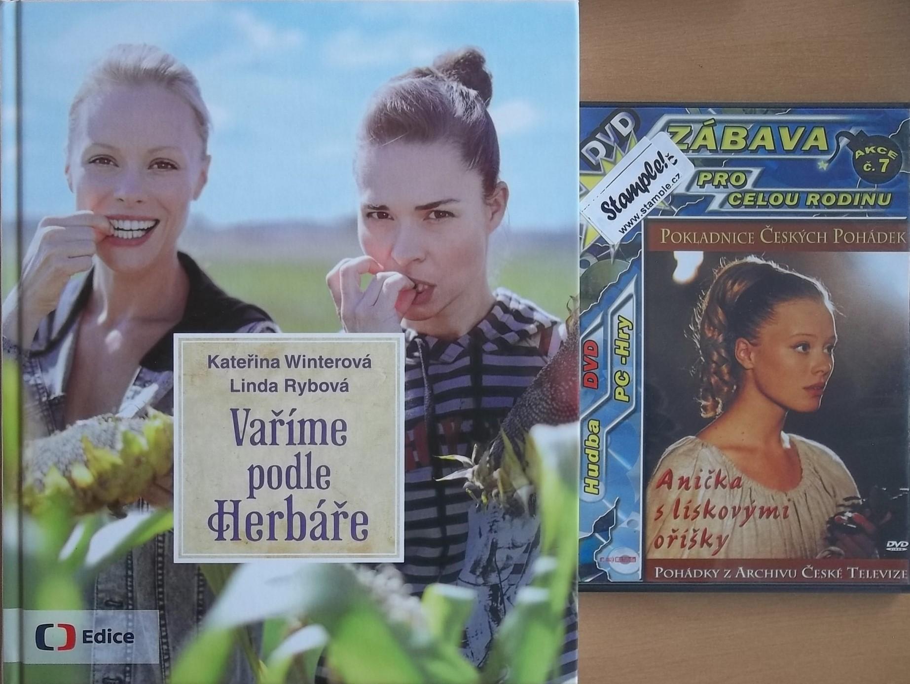 Vaříme podle Herbáře - Winterová Kateřina + DVD DÁREK