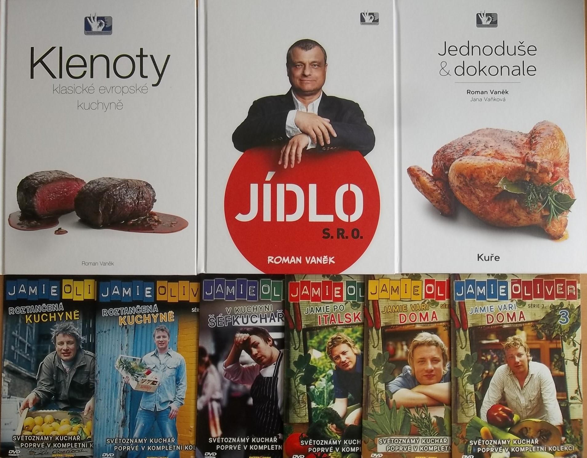 Knižní kolekce Roman Vaněk 3knihy + 6DVD DÁREK