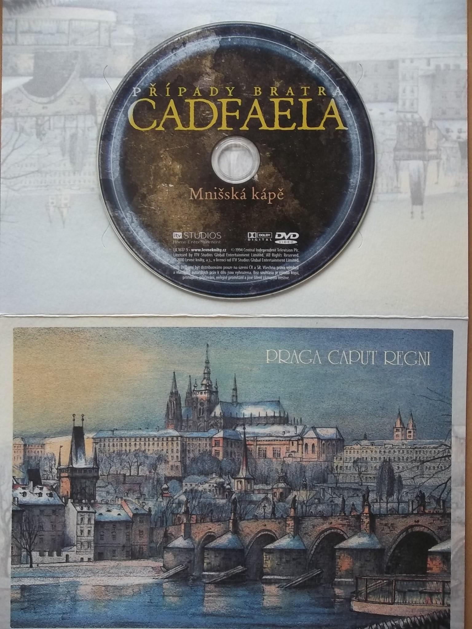 Případy bratra Cadfaela - Mnišská kápě - (dárková obálka - bazarové zboží) DVD