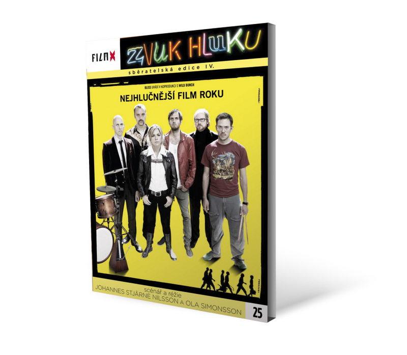 Zvuk hluku - digipack DVD FilmX