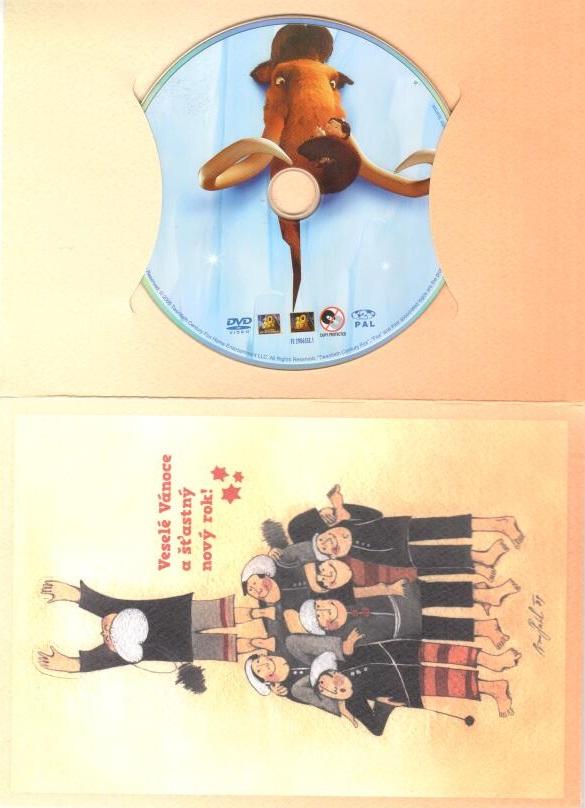 Doba ledová - DVD  ( dárková obálka )