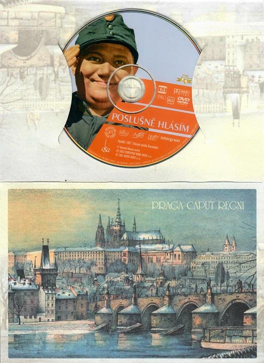 Poslušně hlásím ( dárkový obal ) - DVD