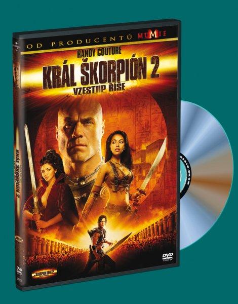 Král Škorpión: Vzestup Říše DVD