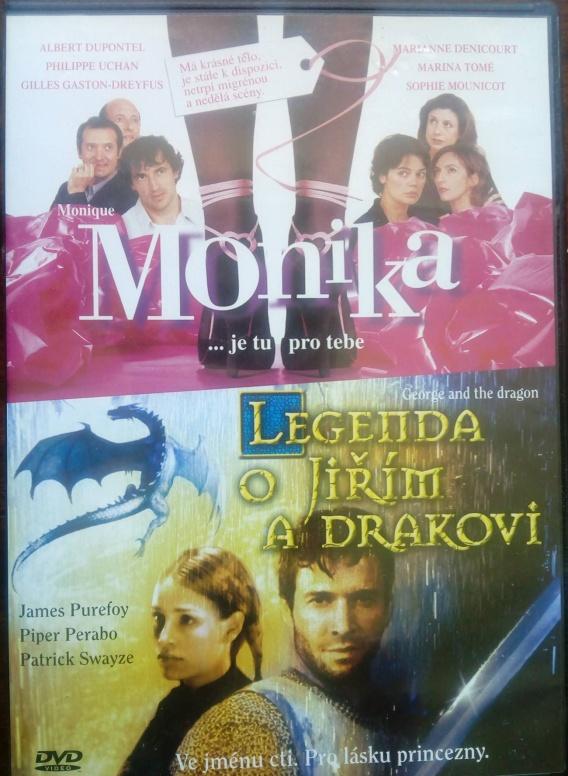 Monika/ Legenda o Jiřím a drakovi DVD